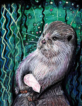 Healing Otter by Kimbo Jackson