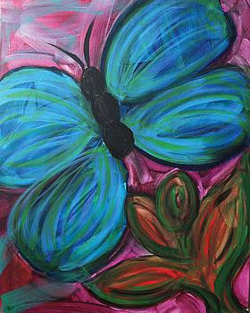 Healing Rain Butterfly by Bethany Stanko