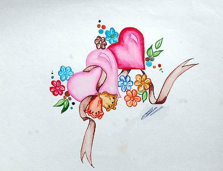 Heart Bunch by Sonam Shine