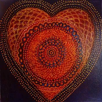 Heart in Orange by Alice Mason