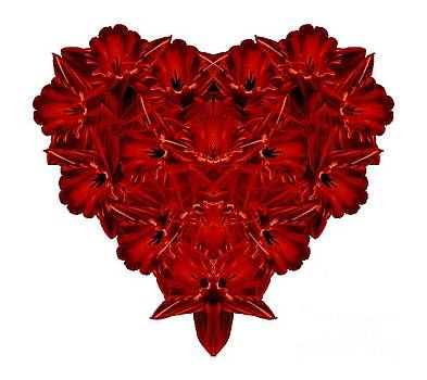 Edward Fielding - Heart of Flowers T-shirt
