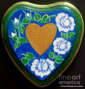 Heart of Gold by Anna Folkartanna Maciejewska-Dyba