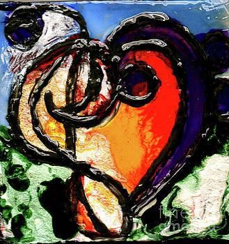 Heart Robin Treble by Genevieve Esson