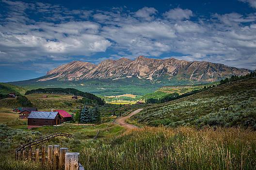 Heartland of the Colorado Rockies by Michael J Bauer