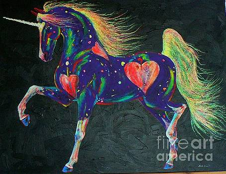 Hearts On Fire Pony by Louise Green