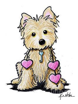Heartstrings Cairn Terrier by Kim Niles