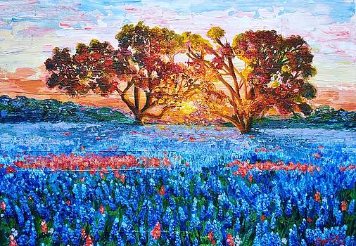 Heaven in Texas by Suzanne King