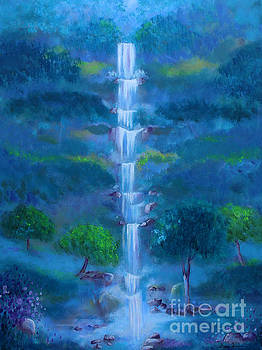Heavenly Falls by Stacey Zimmerman