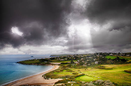 Simon Bratt Photography LRPS - Heavenly Light on Golf Course