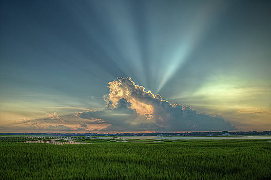 Heaven's Rays by Greg Mills