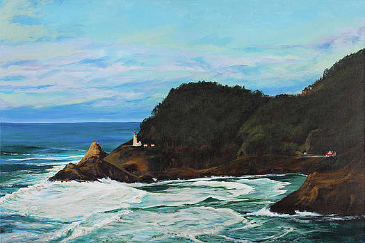 Heceta Head Lighthouse by Les Herman