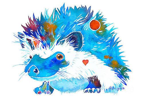 Hedgehog with Heart by Jo Lynch