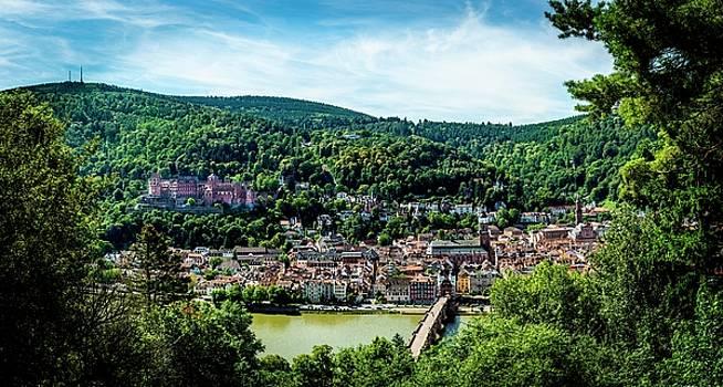 Heidelberg Germany by David Morefield