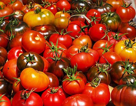 Heirloom Tomatoes Summer  2016 by Joe Schofield