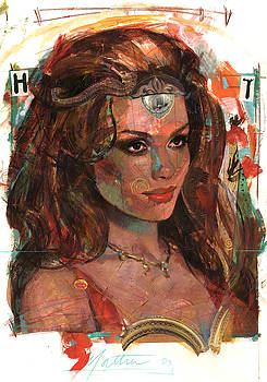 Helen of Troy by Bill Mather