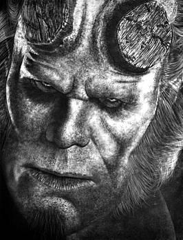 Hellboy Homage by Arno Schaetzle