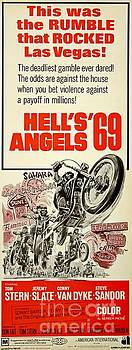 Hells Angels Motorcycle Movie Poster by Pd