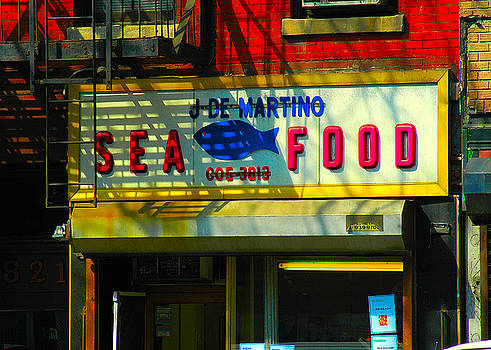 Hell's Kitchen Nyc - Sea Food by Alexander Aristotle