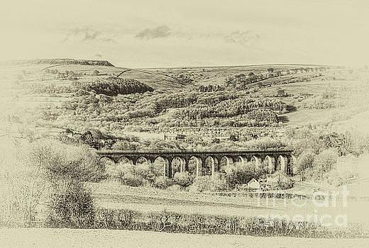 Steve Purnell - Hengoed Viaduct 2 Antique