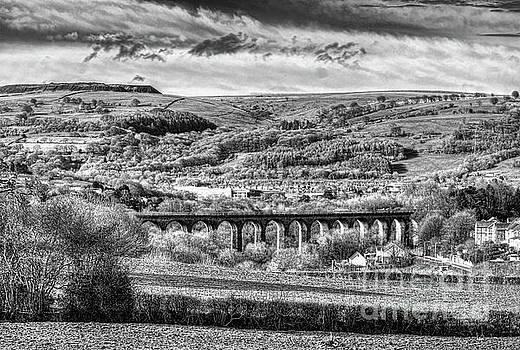 Steve Purnell - Hengoed Viaduct 2 Monochrome