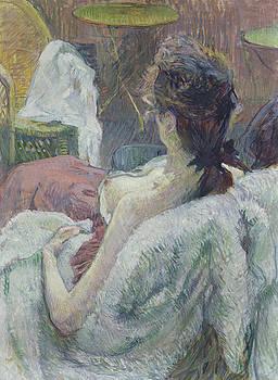 Henri de Toulouse-Lautrec - The Model Resting by Bishopston Fine Art