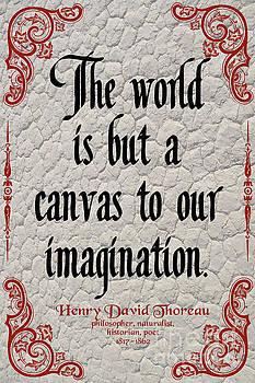 Henry David Thoreau about Imagination by Zalman Latzkovich