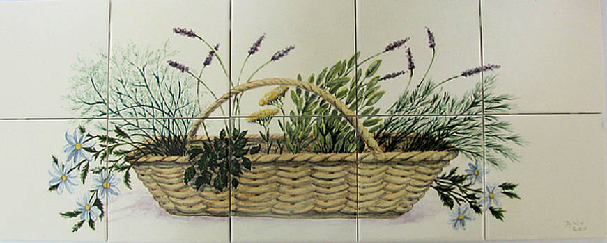Herb Basket by Dy Witt