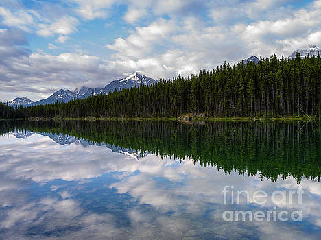 Herbert Lake Clouds by Tracy Knauer