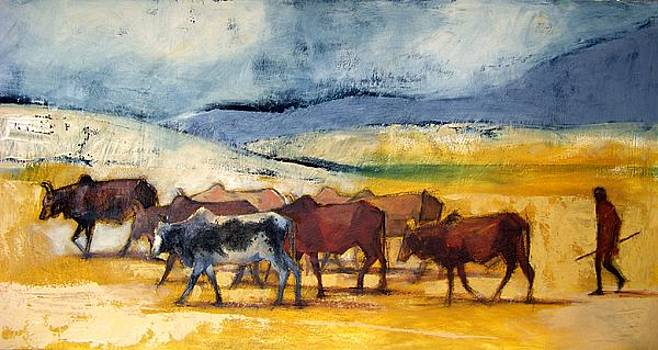 Herdsman by Alida Bothma