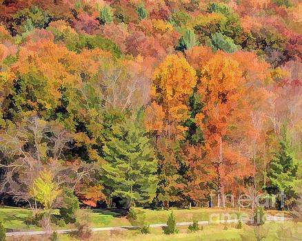 Heritage Park Autumn by Kerri Farley