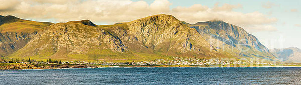 Hermanus Sunset Panorama by Tim Hester