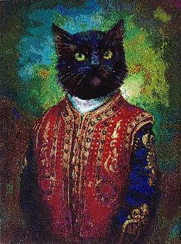 Hermitage Cat by Elena Soldatkina