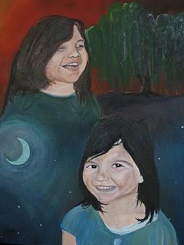 Hernandez Sisters by Brian Marcotte