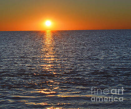 Hernando Beach Sunset 1 by Robert  Suggs