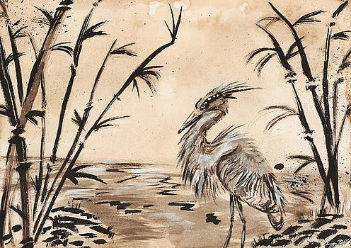 Heron by Sydney Gregory