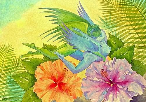 Hibiscus Faeries by Jennifer Baird