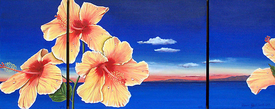 Hibiscus by Sharon Ebert