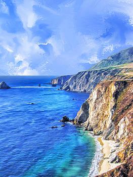 Dominic Piperata - Hidden Beach at Big Sur