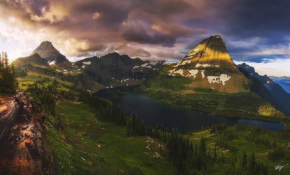 Hidden Lake Sunrise by Peter Coskun
