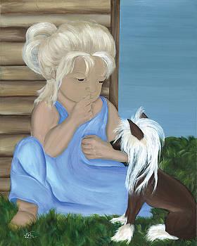 Hide N Seek Girl by Vickie Roche