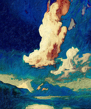 High Clouds over Taos by Terry Fiala