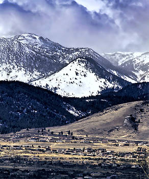 High Country Snow Storm by Nancy Marie Ricketts