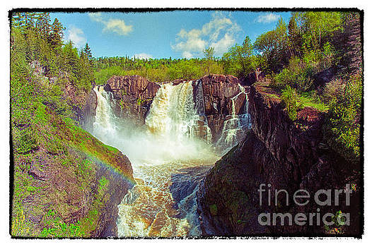 High Falls at Grand Portage State Park by Natural Focal Point Photography