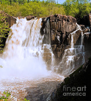 High Falls in Grand Portage MN by Natural Focal Point Photography