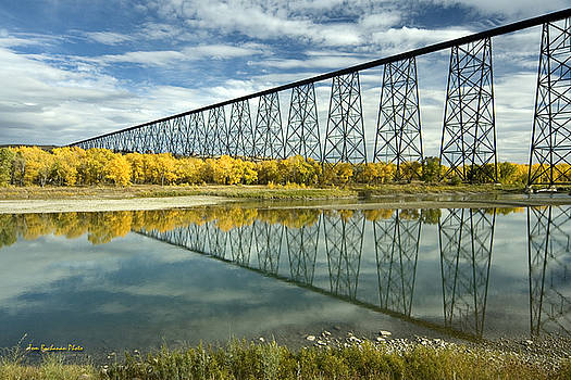 High Level Bridge in Lethbridge by Tom Buchanan