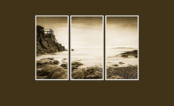 High rock triptych by Martina Fagan