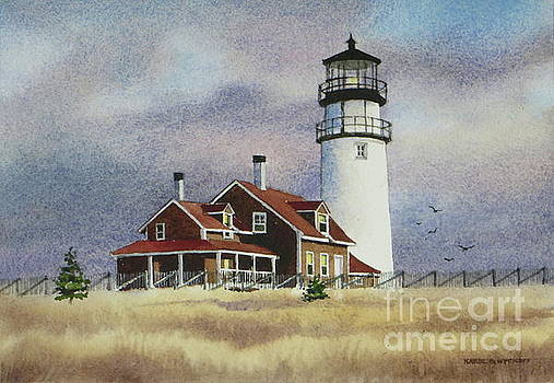 Highland Light View by Karol Wyckoff