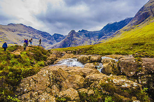 Hiking In The Cuillins by Steven Ainsworth