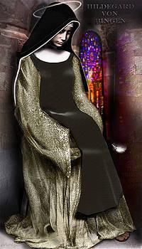 Hildegard von Bingen by Eric Holzer