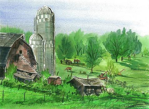 Hilltop Farm by Bud Bullivant